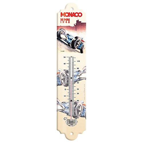 Editions Clouet 57181 - Thermomètre 30x8 cm Monaco - Grand Prix de Monaco de 1948\