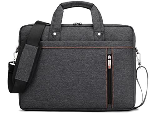 Funda para portátil con asa Funda impermeable de nailon compatible con ASUS, Acer, HP, Dell, Lenovo Laptop y Tablet de 17,3', color rojo rosa