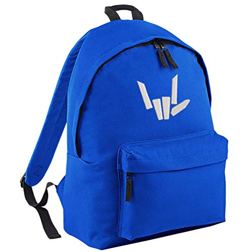TeeIsland Share The Love Backpack (Bright Royal)