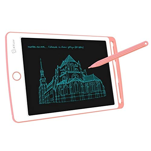 Paulclub WP9308 8,5-Zoll-LCD Writing Tablet mit hohen Helligkeit Handschrift Zeichnung Sketching Graffiti Gekritzel Doodle-Brett for Home Office, Schreiben, Zeichnen (Pink) QiuGe (Color : Pink)