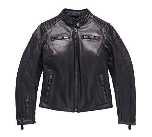 Harley-Davidson Lederjacke #1 Black, XL-Lady