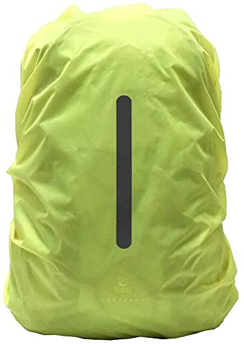Ducomi Coprizaino Antipioggia Impermeabile Antipolvere - Custodia per Zaino Resistente all'Acqua - Ideale per Campeggio, Escursionismo, Trekking, Ciclismo, Moto (Verde, XS)