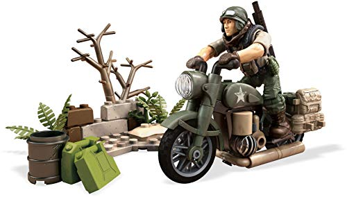 mega construx - Call of Duty FXW78 - Motorbike WWII Bike