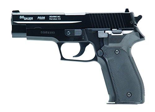 Softair Pistole Sig Sauer P226 H.P.A. mit Metallschlitten, Kal. 6mm BB, Federdruck-System <0.5 Joule, 203558