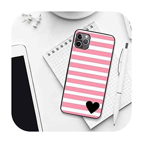 amor patrón corazón lindo teléfono caso para iPhone 7 8 11 12 Pro X XS XR para Samsung A S 6 7 9plus 10plus 21s 71-a9-samsung A21s