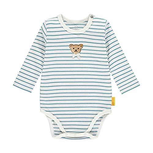 Steiff Body Langarm Ropa Interior, Adriatic Blue, 1 Mes para Bebés