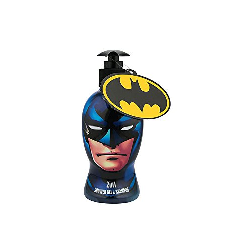 Batman - DC Comics 2 in 1 douchegel/shampoo, per stuk verpakt (1 x 335 ml)
