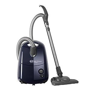 SEBO 92624GB AIRBELT E1 Komfort +Boost ePower Vacuum Cleaner, 890 W, Dark Blue