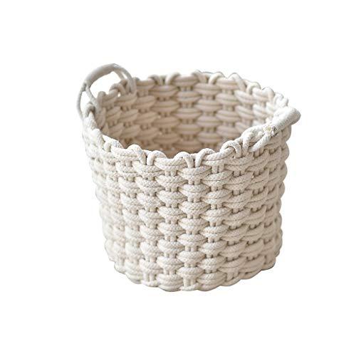 Baumwolle Weben Wäschekörbe Hämmer Kleidung Spielzeug Diversess Storage Barrel Folding Schlafzimmer Wäschebehälter