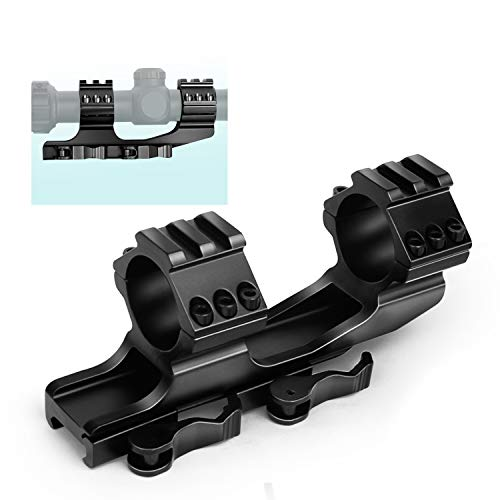 VAH Gun Scope mounts Cantilever Riflescope Mounts Quick Release 30mm 25.4mm 1 inch Scope Mount Solution Featuring Picatinny Ring Tops