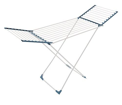 Meliconi Lock Classic Tendedero, Metal, Azul, 55,5x 132.5x 11.5cm, 4Unidad