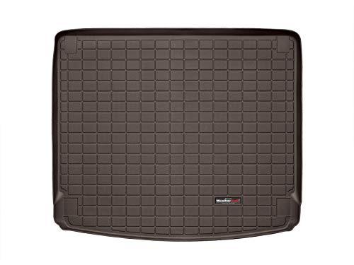 WeatherTech CargoLiner Compatible pour Porsche Cayenne 92A Pack audio Bose standard 2010-17|Cacao|Sans Protection Pare-Chocs
