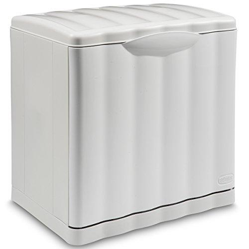 Mülleimer Amica 20 Liter mit Kippfunktion Modulsystem Weiß • Papierkorb Abfalleimer Abfallbehälter Mülltrennung Abfallsammler