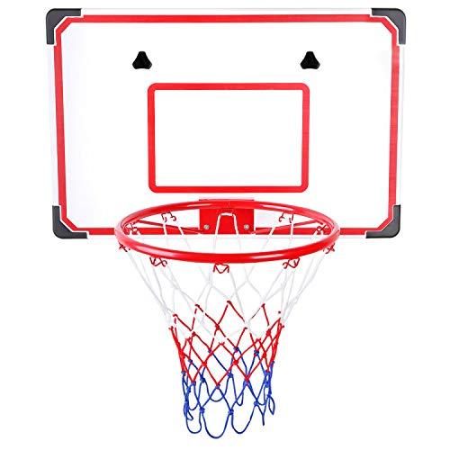 Urban Kit Pro Indoor and Outdoor XL Big Basketball Hoop Set | Basketball Hoop for Wall | Mini Basketball Set | Basketball Hoop Mini Indoor | Office Basketball Hoop