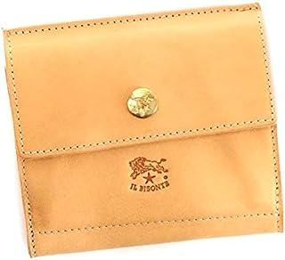(イルビゾンテ) IL BISONTE メンズ&レディース レザー 二つ折り財布 [並行輸入品]