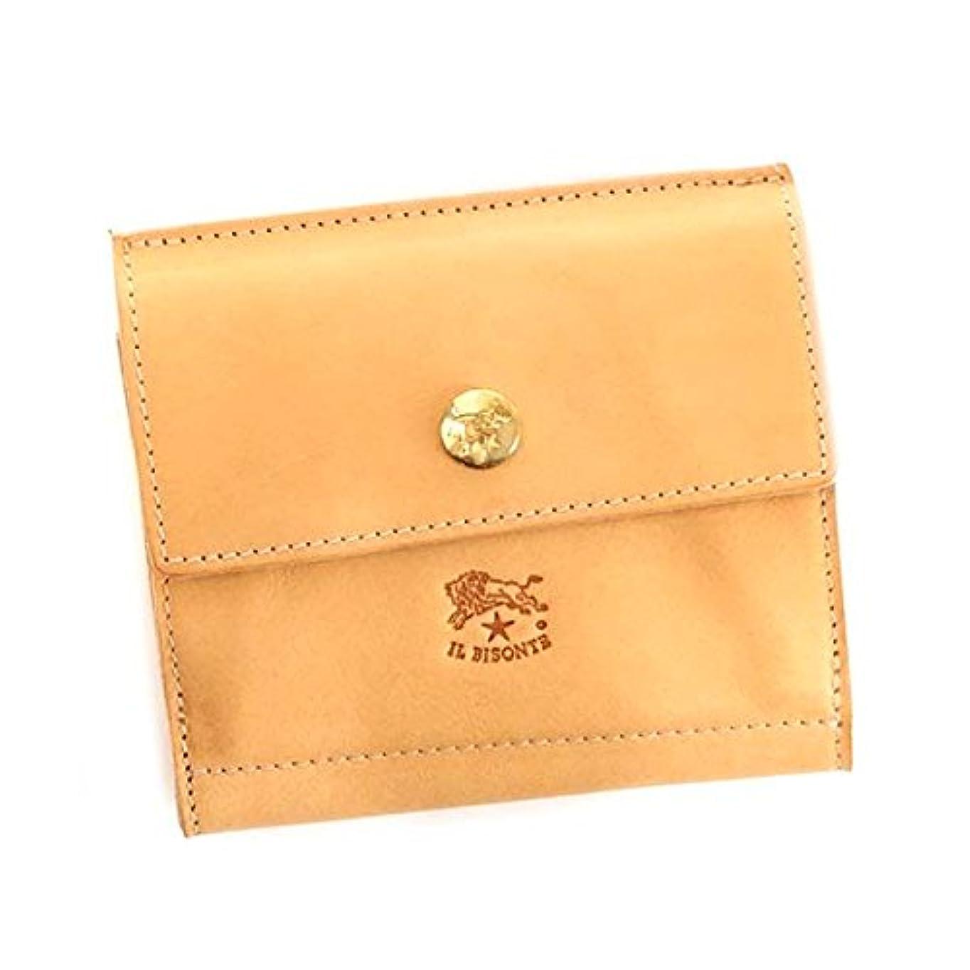 ミッションカタログ敬礼(イルビゾンテ) IL BISONTE メンズ&レディース レザー 二つ折り財布 [並行輸入品]
