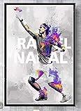 JCYMC Rafael Nadal Tennisspieler Sport Star Poster Tennis