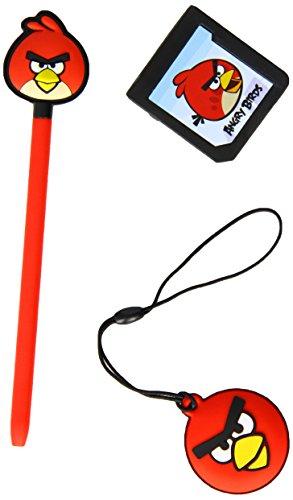 Angry Birds Stylus Essentials Set - 3PC : Red Bird (Nintendo 3DS/DS) [import anglais]