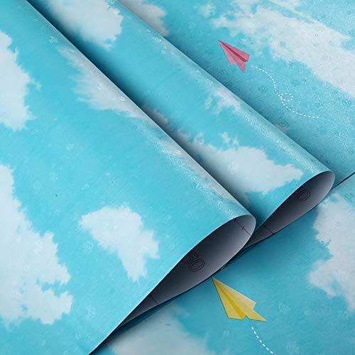 lsaiyy Papel Tapiz Autoadhesivo de Animales pequeños de Color Rosa cálido Papel Tapiz de renovación de Escritorio de Dormitorio- 45CMX10M