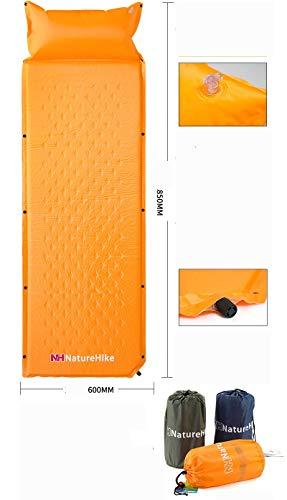 Altera Selbstaufblasbare Matratze, Kinder-Caming-Matte, 180 x 3 x 60 cm, Campingbett,...