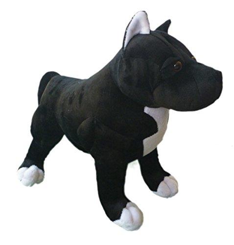 Adore 13' Chance The Pit Bull Dog Stuffed Animal Plush Toy