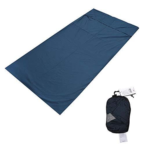 Bicaquu Saco de Dormir de algodón portátil al Aire Libre sobre Envolvente Sábana de Cama de Viaje de Camping Oficina de Viaje de Hotel de Camping