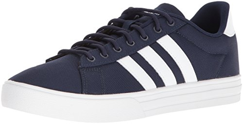 adidas Men's Daily 2.0, Collegiate Navy White, 9.5 M US