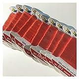 AYGANG Raso Cinta 20 Metros, 2 mm, Cintas de Seda de tafetán Tejidas de Doble Cara de Seda Pura Real para el Proyecto de Bordado y artesanía, Embalaje de Regalo (Color : 13, Size : 2MMX20MTS)
