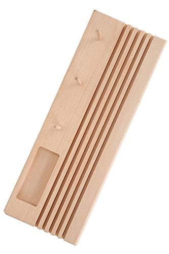 morytrade 糸巻ラック ミシン糸 刺繍糸 糸立て 台 木製 ラック 収納 スタンド (ベース)