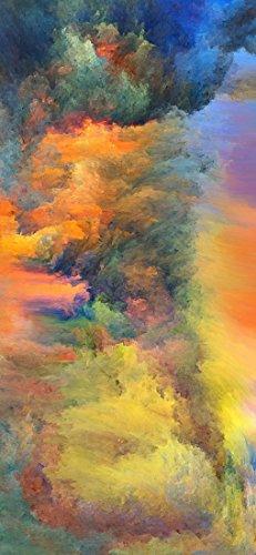 ID PeelitStickit-019 60 x 130 cm, Altezza Cielo e Stelle, Carta da Parati, Motivo:, Adesivo da Parete in Vinile di Alta qualità