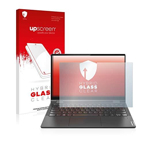 upscreen Hybrid Glass Panzerglas Schutzfolie kompatibel mit Lenovo Yoga C640 9H Panzerglas-Folie