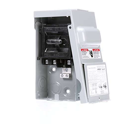 Siemens WF2060 60 Amp Fusible AC disconnect