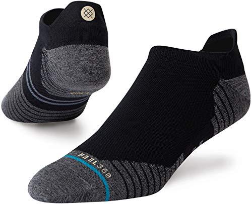 Stance Men's Low Sock Run Light TAB ST, Black, Large
