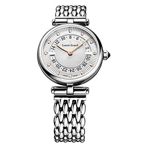 Louis Erard Reloj 12 Diamantes Colección Romance Cabujón Zafiro 01811AA11.BMA81