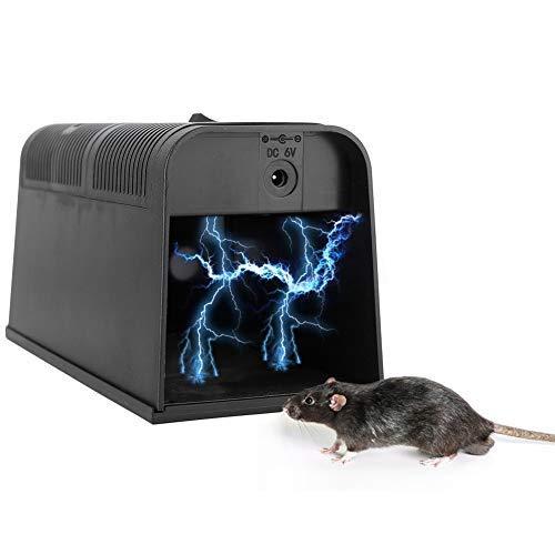 Ratten Killer Elektrische Hochspannung Elektrische Schlagfalle Mäusefalle Haus Anti-Rattenkäfig für Küche Bodenboden