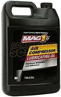 MAG1 Air Compressor Oil ISO-100 SAE-30W Non-Detergent 1 Gallon Jug