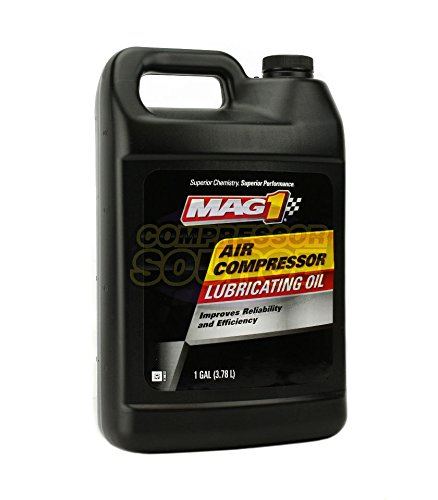 MAG1 Air Compressor Oil ISO-100 SAE-30W Non-Detergent 1 Gallon Jug