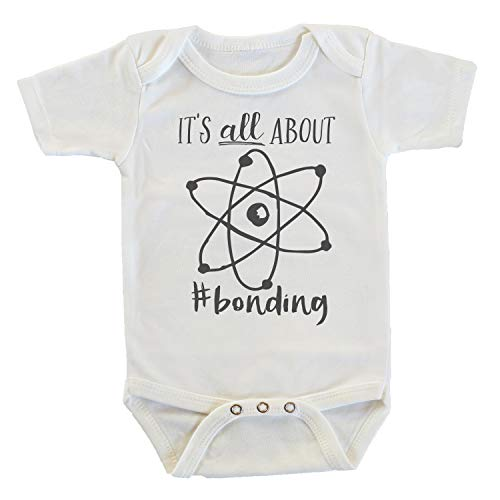 It's All About Bonding Science Chemistry Atomic Onesie Bodysuit (6-12 months)
