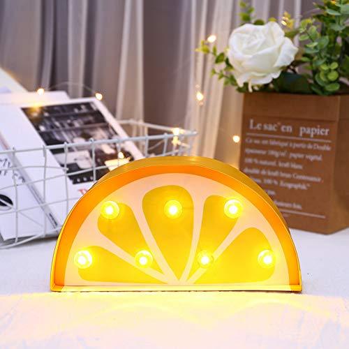 XHSHLID LED-deel voor fruit en planten, modelleer, lamp, nachtlampje, decoratie voor kerstfeesten