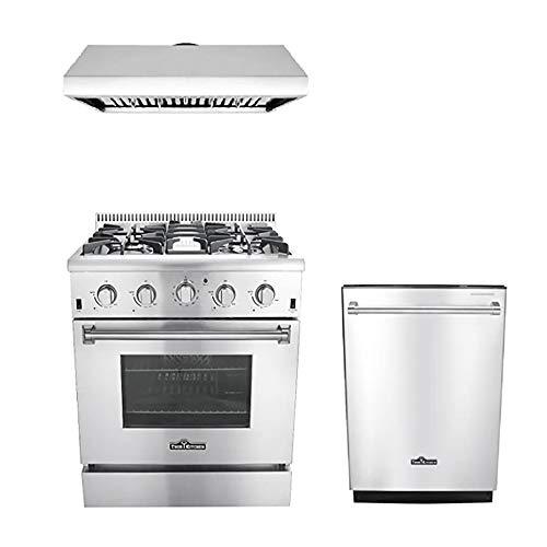 Thor Kitchen 3-Piece Kitchen Package with HRG3080U 30