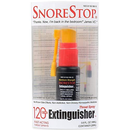 SnoreStop Extinguisher Throat Spray 0.6 oz (Pack of 2)