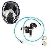 OKBY Accessoires de Protection de l'industrie - Respirateur à Adduction d'air pour système de Masque à gaz alimenté par air pour Le soudage par pulvérisation de Peinture