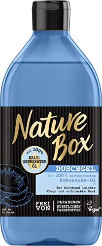 Nature Box Duschgel Kokosnuss-Öl, 6er Pack (6 x 385 ml)