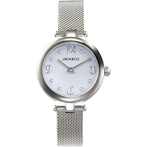 Saldi - Reloj Jack & Co. Jack Watches de acero pulido y cristales JW0190L2 SILVER AZURE