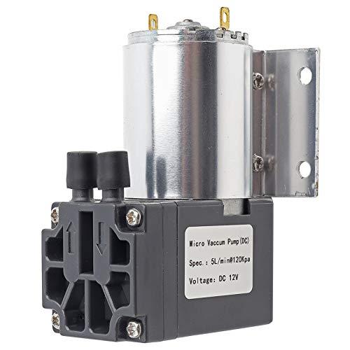 5L / min 120KPa Bomba de succión de vacío en miniatura de alta confiabilidad DC 12V Bomba de succión de presión negativa Bajo consumo de energía para muestreo de análisis de gas