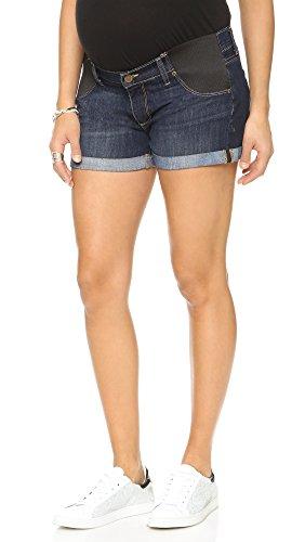 PAIGE Denim Women's Jimmy Jimmy Maternity Shorts, Langston, 31