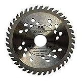 Hoja de sierra circular de alta calidad (sierra de habilidad) de 140 mm, discos de corte de madera circulares de 140 mm x 22,23 mm x 24 dientes