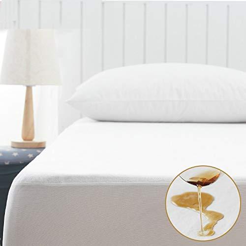 Beddianta matrasbeschermer, waterdicht, premium beschermhoes voor matras, waterdicht, voor bed, kostuum, bedluizen, voor matrasmaat