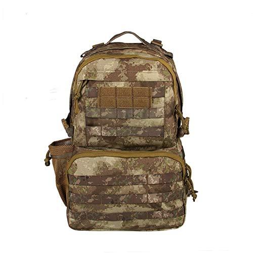 CHENGDABAO Outdoor-Bergsteigen-Rucksack, Militär-Enthusiasten Taktische Tarnung Militärtasche, wasserdichte Und Atmungsaktive Sportgeräte 32L (Color : Camouflage)