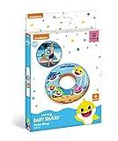 Mondo - 16889 Toys-Baby Shark Swim Ring-Donut Hinchable - Anillo de natación Salvavidas - Ideal para niña - Se Puede...